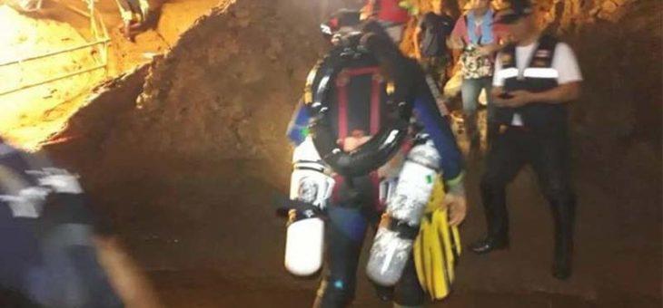 การช่วยเหลือผู้ประสบภัยติดถ้ำหลวง